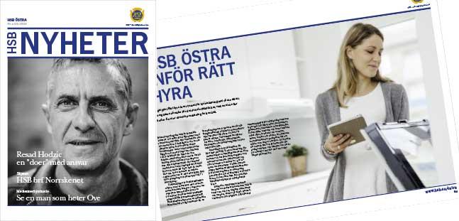 Ny tidning för HSB ute nu