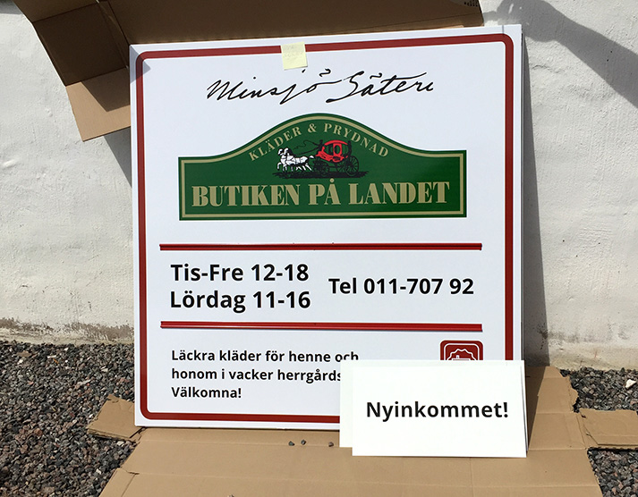 Sommarens marknadsföring av Östgötalandet