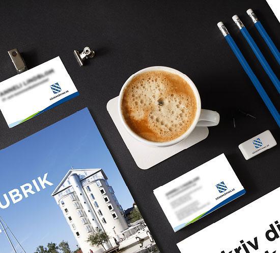 Grafiska riktlinjer, Design, Reklambyrå, Kommunikationsbyrå, Webb, annons