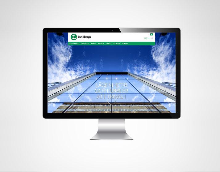 Webbplats för Lundbergs